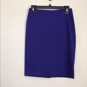 Blue pencil skirt!